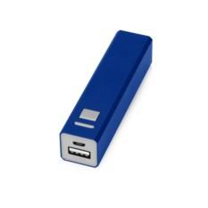 Синее портативное зарядное устройство Спейс на 3000 mAh