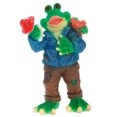 Декоративная садовая фигура Лягушка в свитере