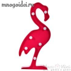 Светодиодный декоративный ночник Фламинго