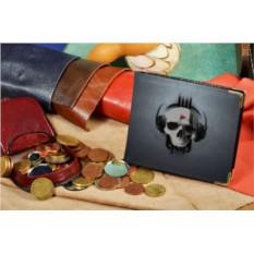 Портмоне с принтом Elole Design Музыкальный череп