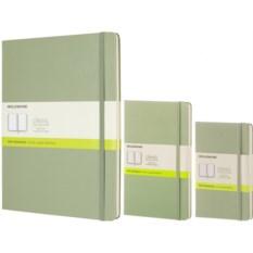 Зеленая нелинованная записная книжка Moleskine Classic