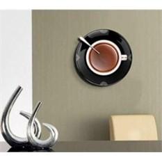 Часы настенные Чашка кофе на блюдце