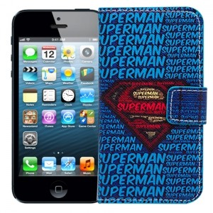 Чехол-книжка для iPhone 5/5s Superman