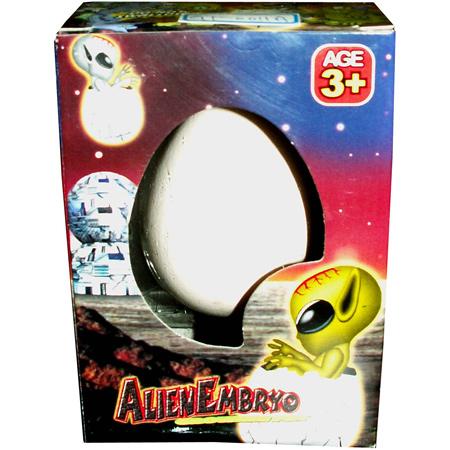 Яйцо с растущим в воде Пришельцем