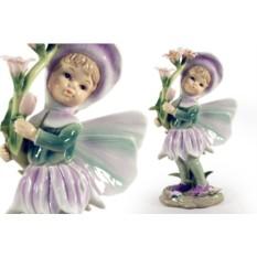Статуэтка Девочка — фея (в розовом)