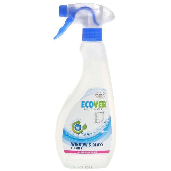 Экологический спрей Ecover для чистки окон и стеклянных поверхностей, 500 мл