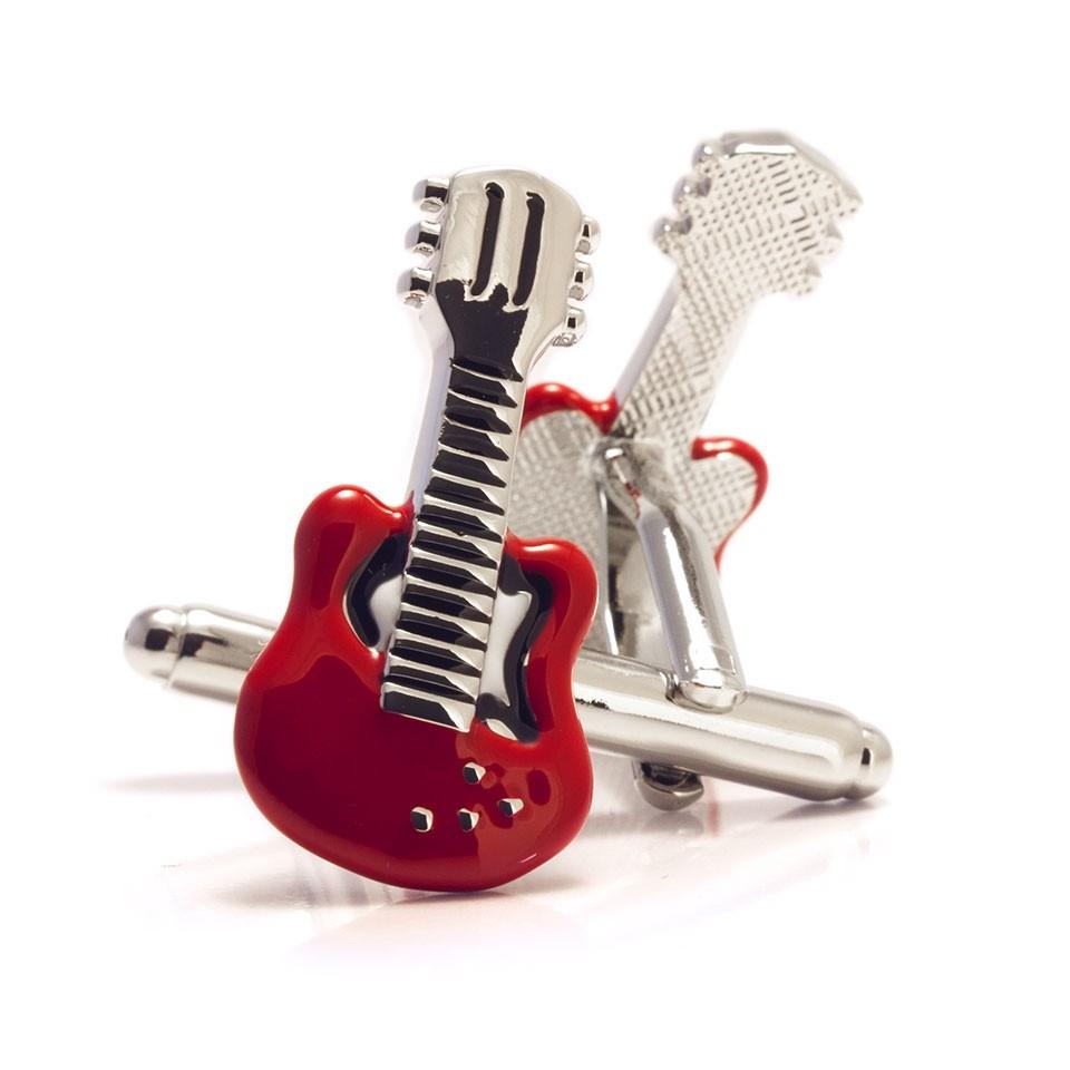 Запонки Гитара