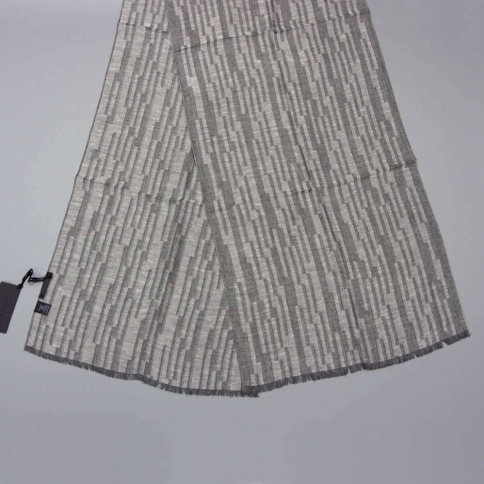 Серый утепленный мужской шарф Calvin Klein