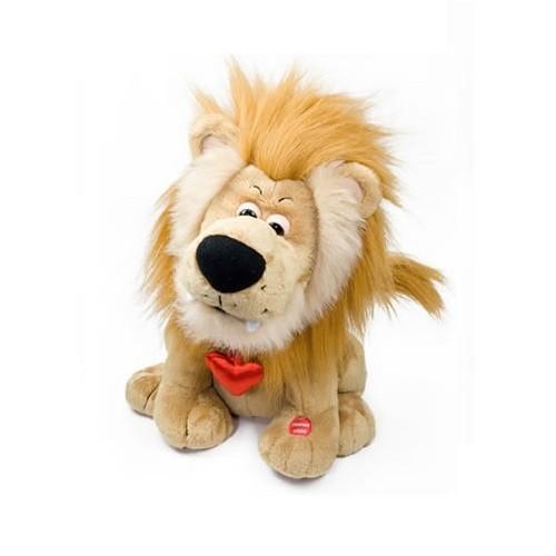 Игрушка Поющий лев-романтик