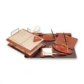 Настольный набор деревянный, 8 предметов.