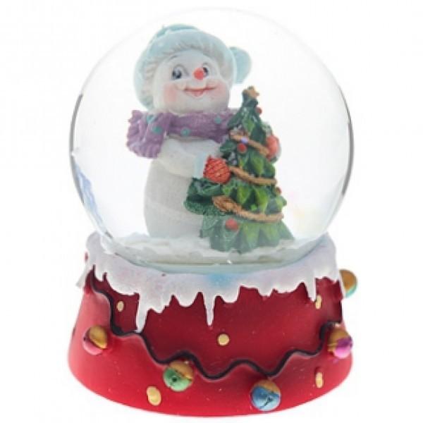 Снежный шар Снеговик