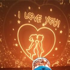 Светильник-проектор Love