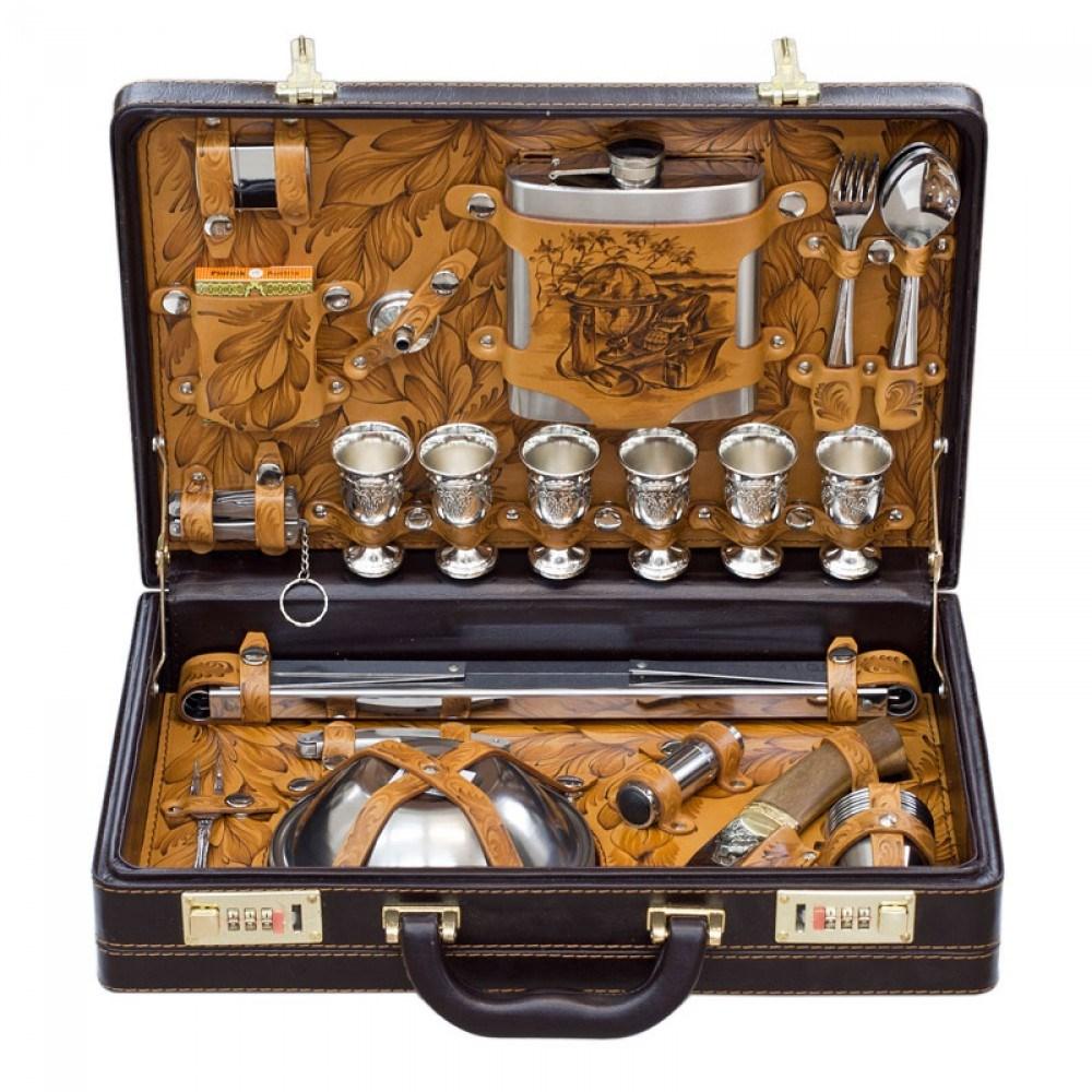 Набор для шашлыка «Кочевник» с мангалом