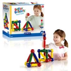 Магнитный конструктор Better Builders (30 деталей)