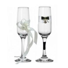 Набор свадебных бокалов №30