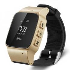 Детские часы с GPS Smart Baby Wacth EW100 (цвет: золото)