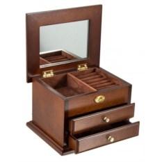 Шкатулка для ювелирных украшений с зеркалом Moretto