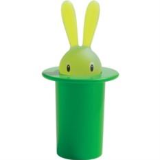Зеленый держатель для зубочисток Magic bunny