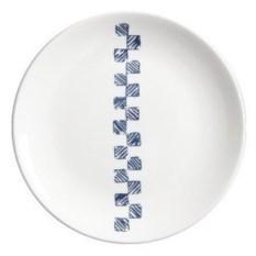 Стильная тарелка Скандинавский минимализм. Квадраты