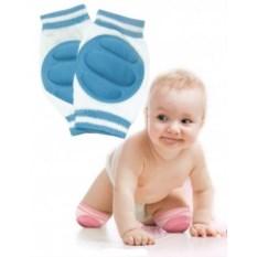 Голубые детские наколенники для ползания