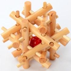 Деревянная головоломка для детей Шарик