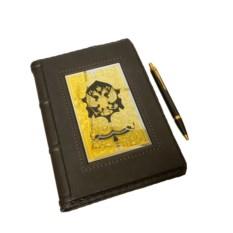 Набор в деревянной коробке Ежедневник ручка Parker
