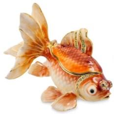 Шкатулка Золотая рыбка Nobility