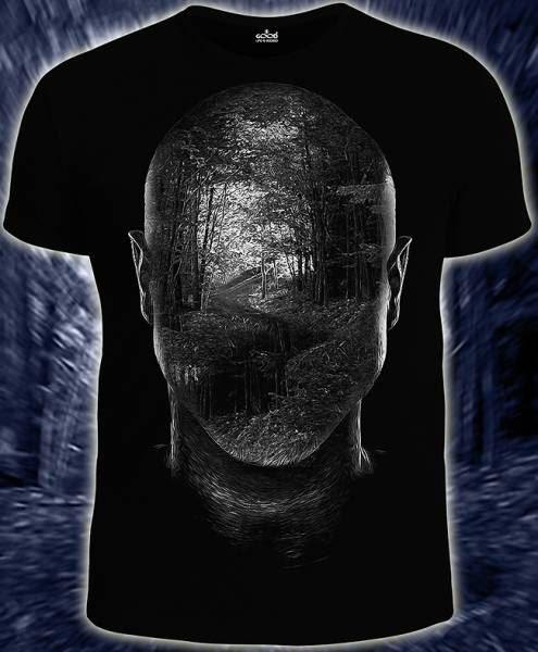 Мужская футболка Forest - inside