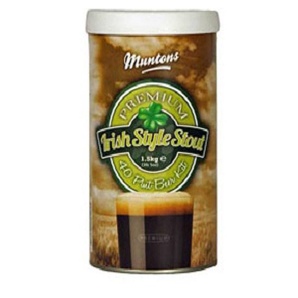 Смесь для пивоварни Muntons Irish Stout, 1,5 кг