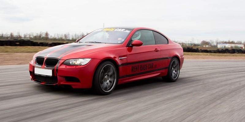 Сертификат Управление гоночным болидом BMW M3