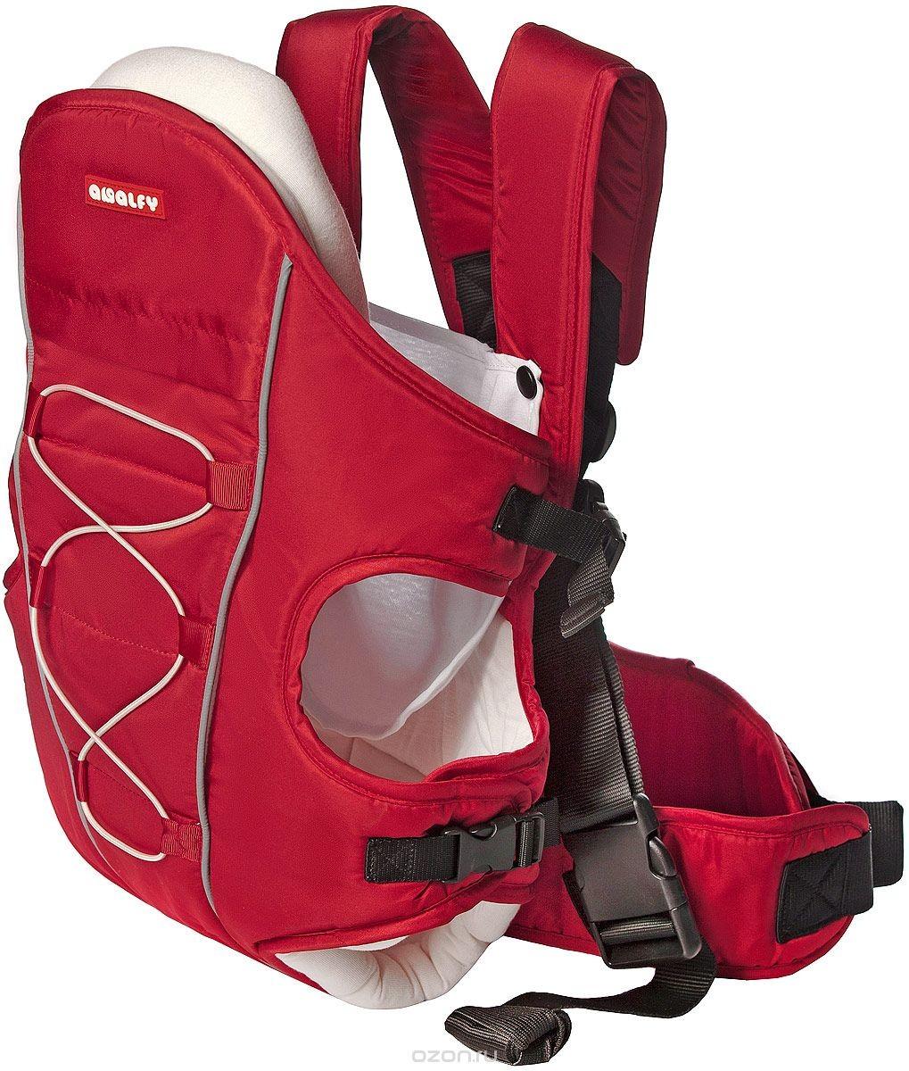 Красный рюкзак-переноска Happy Baby Amalfy