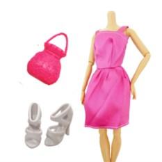 Набор аксессуаров с сумочкой для кукол Барби