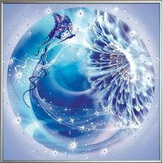 Картина с кристаллами Swarovski Стихия-Воздух