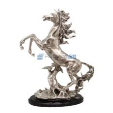 Статуэтка с посеребрением Лошадь