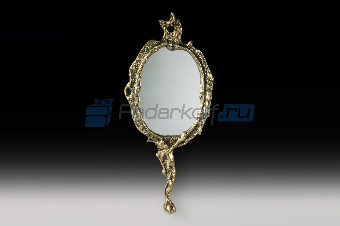 Зеркало с ручкой Всегда с тобой