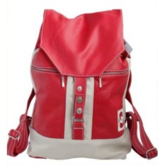 Кожаный рюкзак Акцент