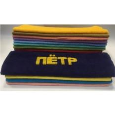 Полотенце с вышивкой Петр