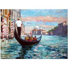 Картины по номерам «Венеция, Гранд-Канал» Тимми Маллетта