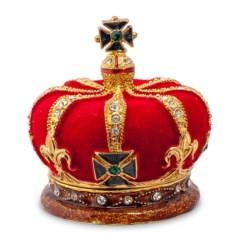 Металлическая шкатулка Императорская корона
