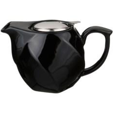 Черный заварочный чайник, объем 750 мл