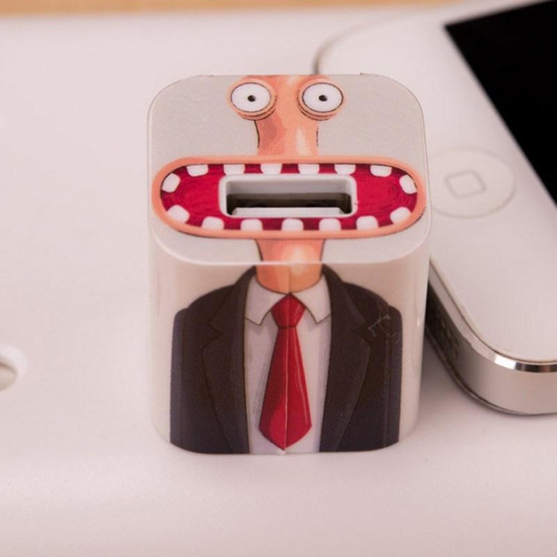 Наклейка для зарядного устройства Apple ОфисМэн