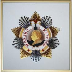 Картина с кристаллами Swarovski Орден Кутузова