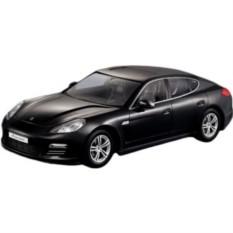 Черная радиоуправляемая машина Porsche Panamera