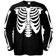 Футболка halloween «Скелет»