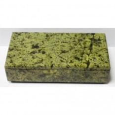Каменная шкатулка для денег и драгоценностей (18 см)