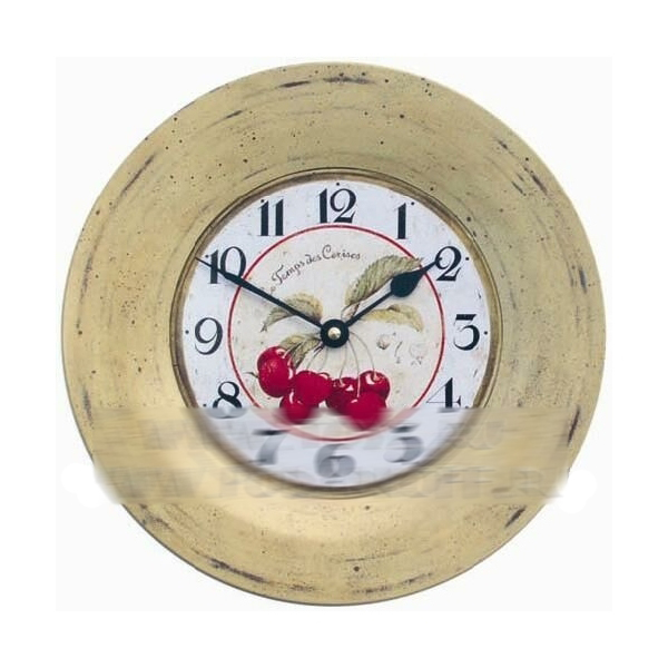 Часы настенные «Вишня»