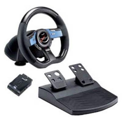 Руль и педали для PC GENIUS Wireless Trio R