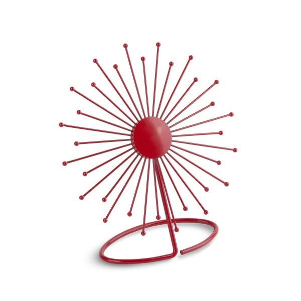 Настольный красный держатель для фотографий и записок Sunny