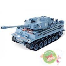 Серый радиоуправляемый танк German Tiger