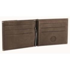 Коричневое портмоне Wenger Le Rubli с зажимом для денег